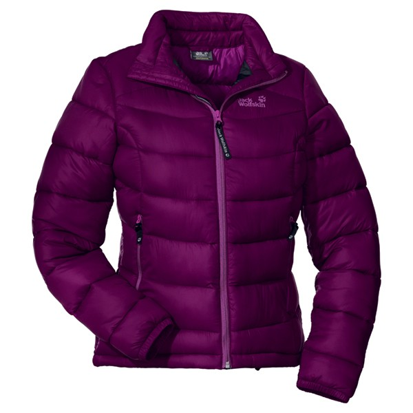 jack wolfskin daunenjacke icecamp jacket damen purple dawn. Black Bedroom Furniture Sets. Home Design Ideas