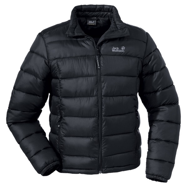 jack wolfskin daunenjacke icecamp jacket herren schwarz. Black Bedroom Furniture Sets. Home Design Ideas